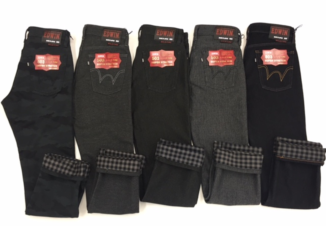 【EDWIN】503 WILD FIRE  暖快 Regular Straight直筒牛仔褲 - 「Webike-摩托百貨」