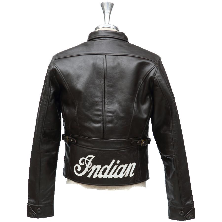 【Indian】WOODWARD 皮革外套 - 「Webike-摩托百貨」