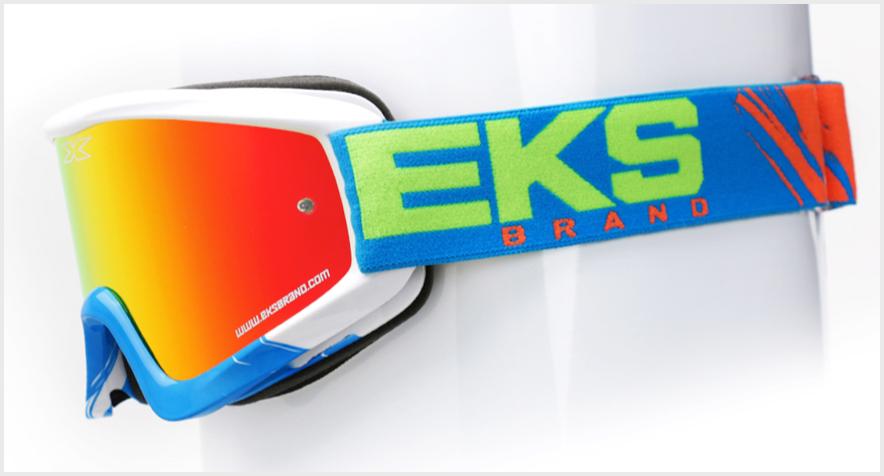 【EKS (X) Brand】MX越野風鏡 【VOLCANO】 - 「Webike-摩托百貨」