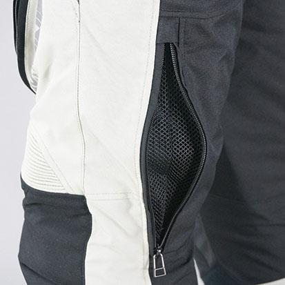 (KOMINE) プロテクトフルイヤーツーリングパンツ-サカノ コミネ Mサイズ ブラック PK-920