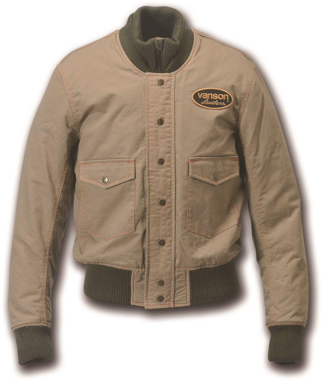【VANSON】棉質外套 - 「Webike-摩托百貨」