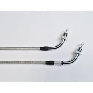 US HONDA 北米ホンダ純正アクセサリーブレーデッドスロットル ケーブル (Braided Throttle Cable)