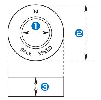 【GALE SPEED】後輪減振橡皮組 (6個入) - 「Webike-摩托百貨」