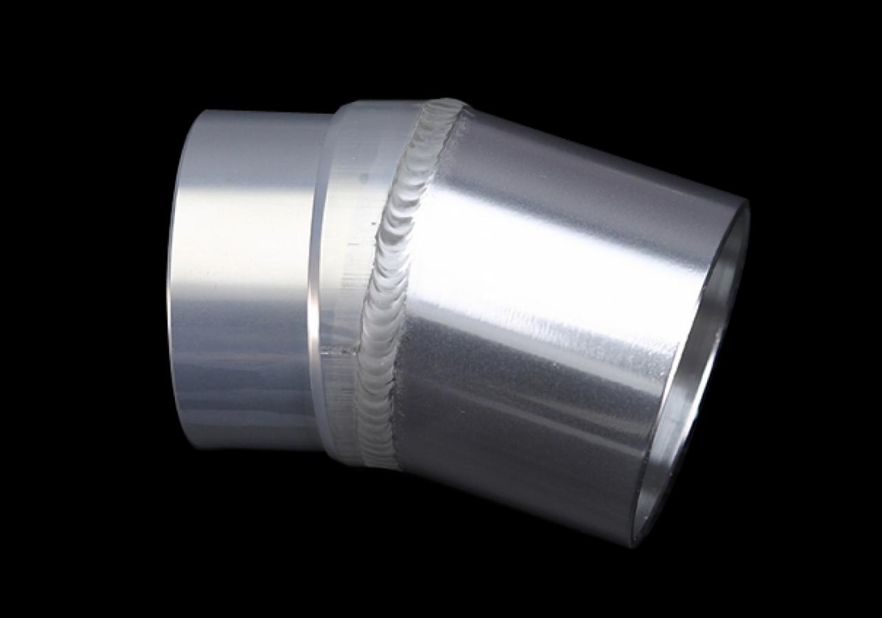 【K-FACTORY】彎角鋁合金排氣管接管 φ60.5-54 - 「Webike-摩托百貨」
