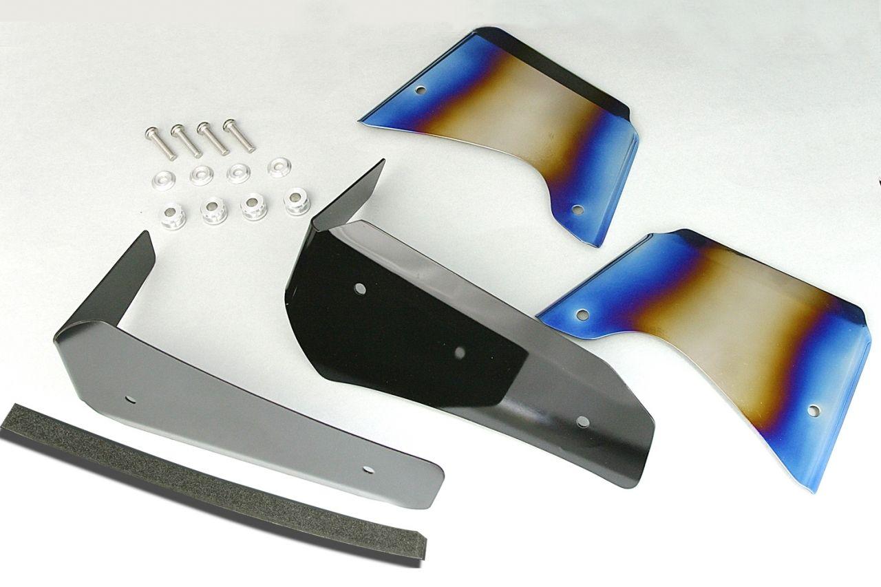 【K-FACTORY】鈦合金散熱器 (水箱) 導風板 - 「Webike-摩托百貨」