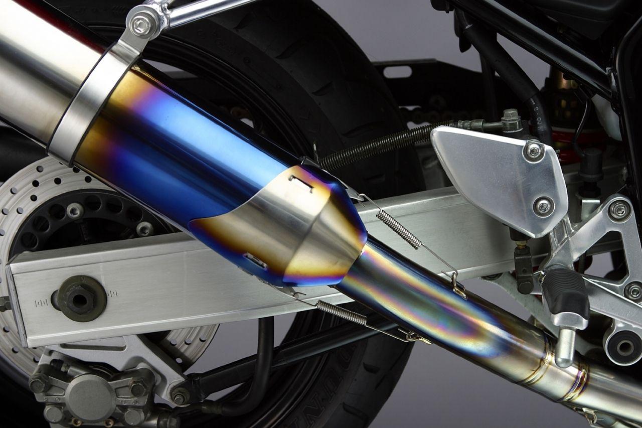 【K-FACTORY】鈦合金・排氣管護蓋 右 - 「Webike-摩托百貨」