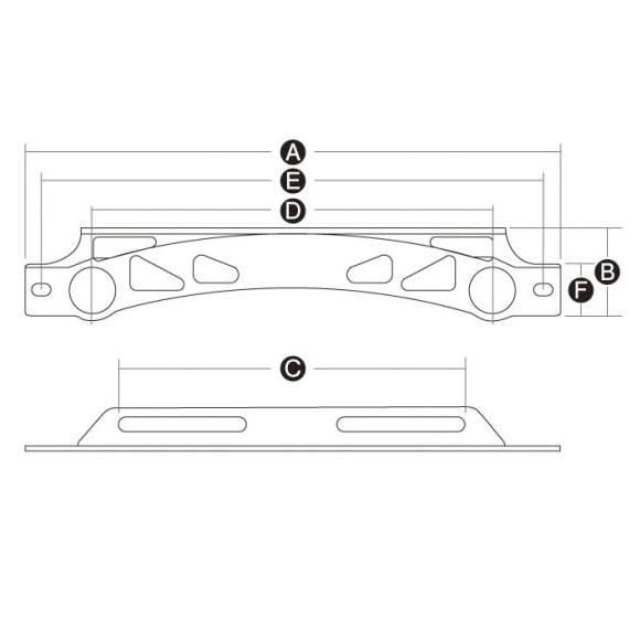 【ACTIVE】通用型環繞式機油冷卻器(油冷排)固定支架 - 「Webike-摩托百貨」