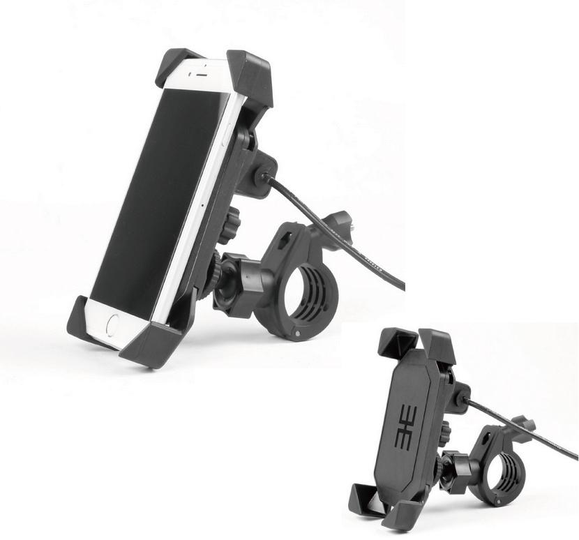 【MADMAX】USB插座 一體型手機安裝支架組套 - 「Webike-摩托百貨」