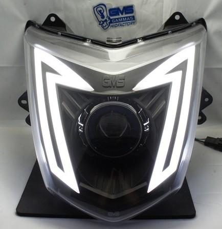 GMS-M3カスタムヘッドライト LEDトリム