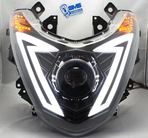GMS-M7カスタムヘッドライト LEDトリム