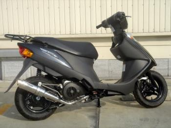 【KN企劃】HOTLAP V125 全段排氣管 (黑色)  K9- - 「Webike-摩托百貨」