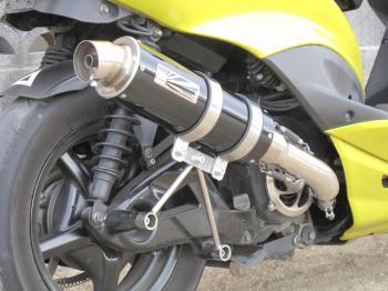 【KN企劃】Hot Lap  Type109 黑色全段排氣管  CygnusX (O2 Sensor車輛) - 「Webike-摩托百貨」
