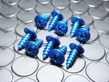 【KN企劃】鋁合金自攻螺絲 (5mm 藍色) - 「Webike-摩托百貨」