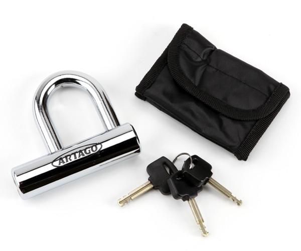 558 U DISC Lock CHROME