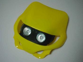【KN企劃】MotoCross 頭燈整流罩  水平型 Type3 - 「Webike-摩托百貨」
