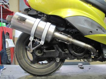 【KN企劃】HOTLAP 全段排氣管 CygnusX - 「Webike-摩托百貨」