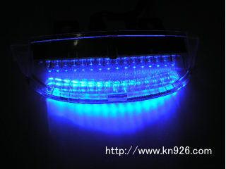 【KN企劃】LED 尾燈 (藍色) - 「Webike-摩托百貨」