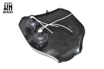 【KN企劃】MotoCross 頭燈整流罩編號整流罩 (碳纖維紋路) - 「Webike-摩托百貨」