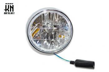 "【KN企劃】 通用型   7""  晶鑽頭燈 H4 (含定位燈) - 「Webike-摩托百貨」"
