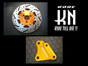 【KN企劃】200mm 加大煞車碟盤 2POT煞車卡鉗用 - 「Webike-摩托百貨」