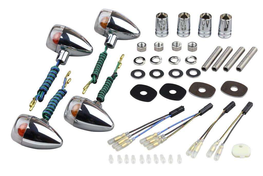 【POSH】Basic series砲彈型方向燈(車種專用) - 「Webike-摩托百貨」
