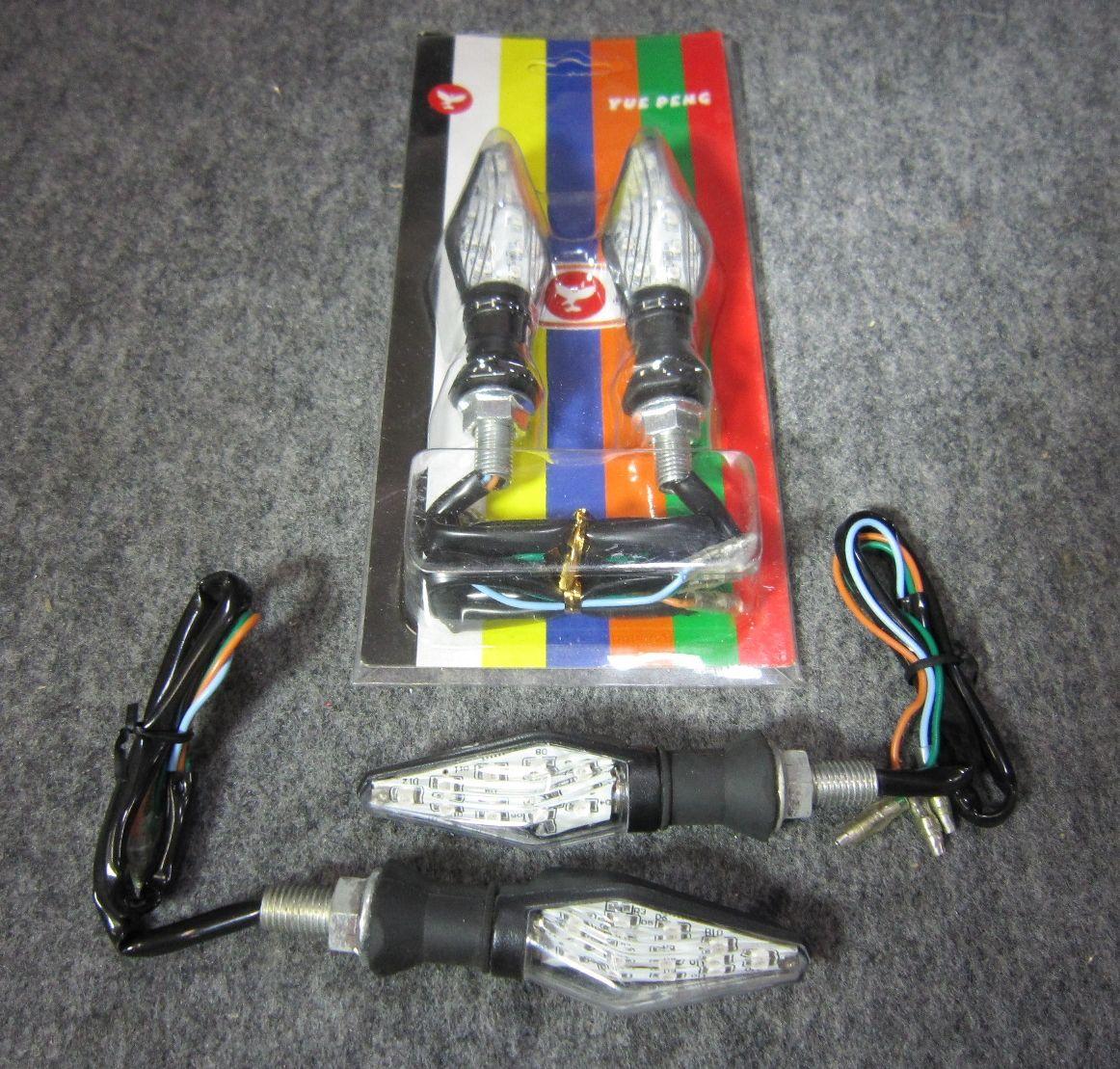 前後点灯システム LEDウィンカーセット withウィンカーリレー