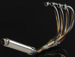 【NITRO RACING】4in1 手工彎曲 鈦合金 全段排氣管 UP Type  (無切油底殼) ZEPHYR1100用 - 「Webike-摩托百貨」