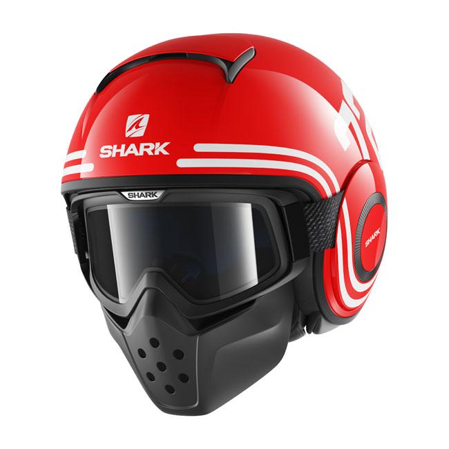 RAW DRAK 72 HELMET    Shark helmet    Open Face Helmets - Webike India f2c017bffb2d3