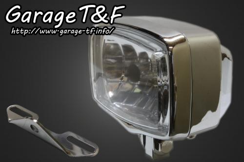 【Garage T&F】Square 型頭燈&頭燈支架套件 (Type B) - 「Webike-摩托百貨」