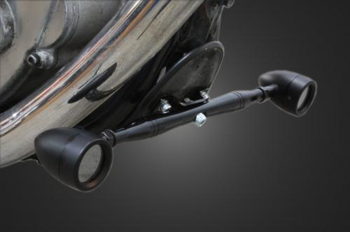 【Garage T&F】前方向燈安裝支架 (Type II 黑色 245mm) - 「Webike-摩托百貨」