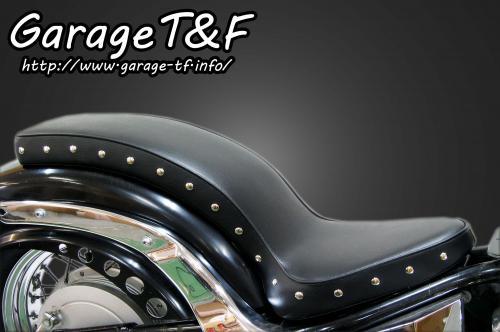 【Garage T&F】付鉚釘光滑Cobra坐墊 - 「Webike-摩托百貨」
