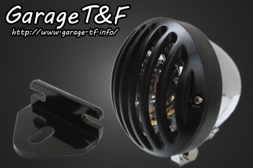 【Garage T&F】4.5吋 Bird Gauge 頭燈&頭燈支架套件 (Type E) - 「Webike-摩托百貨」