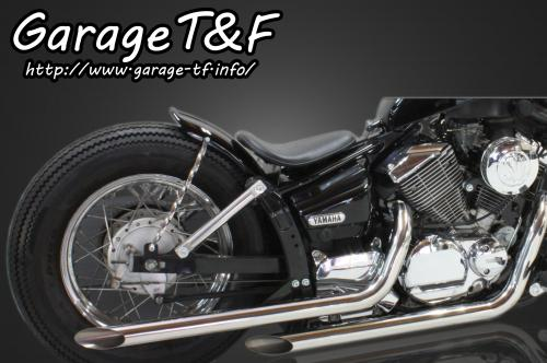 【Garage T&F】Drag pipe 全段排氣管 Type I (Slash cut) - 「Webike-摩托百貨」