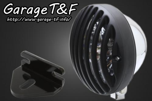 【Garage T&F】5.75吋 Bird Gauge 頭燈&頭燈支架套件 (Type E) - 「Webike-摩托百貨」