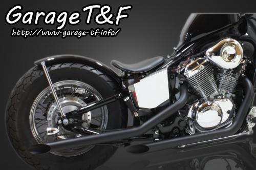 【Garage T&F】Drag pipe 全段排氣管 Type I - 「Webike-摩托百貨」