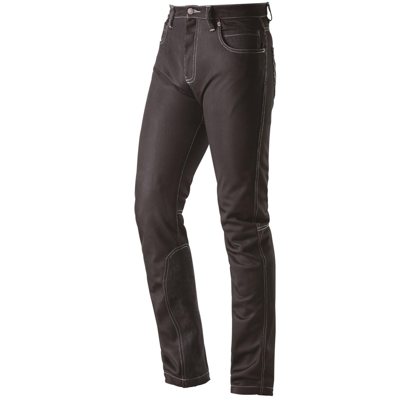Mesh Denim Style Pants