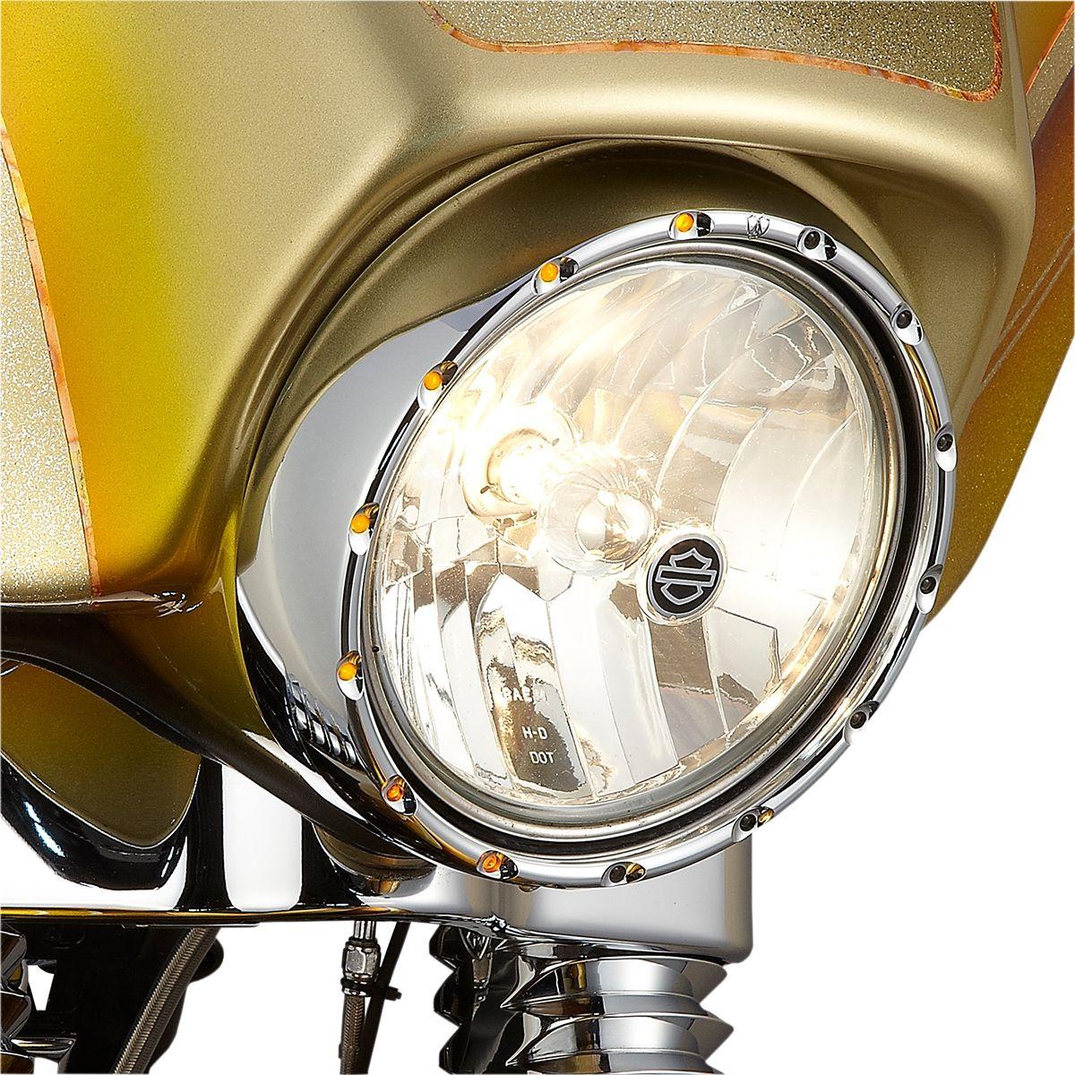 【ARLEN NESS】頭燈飾環 H/L CHR [2001-0578] - 「Webike-摩托百貨」