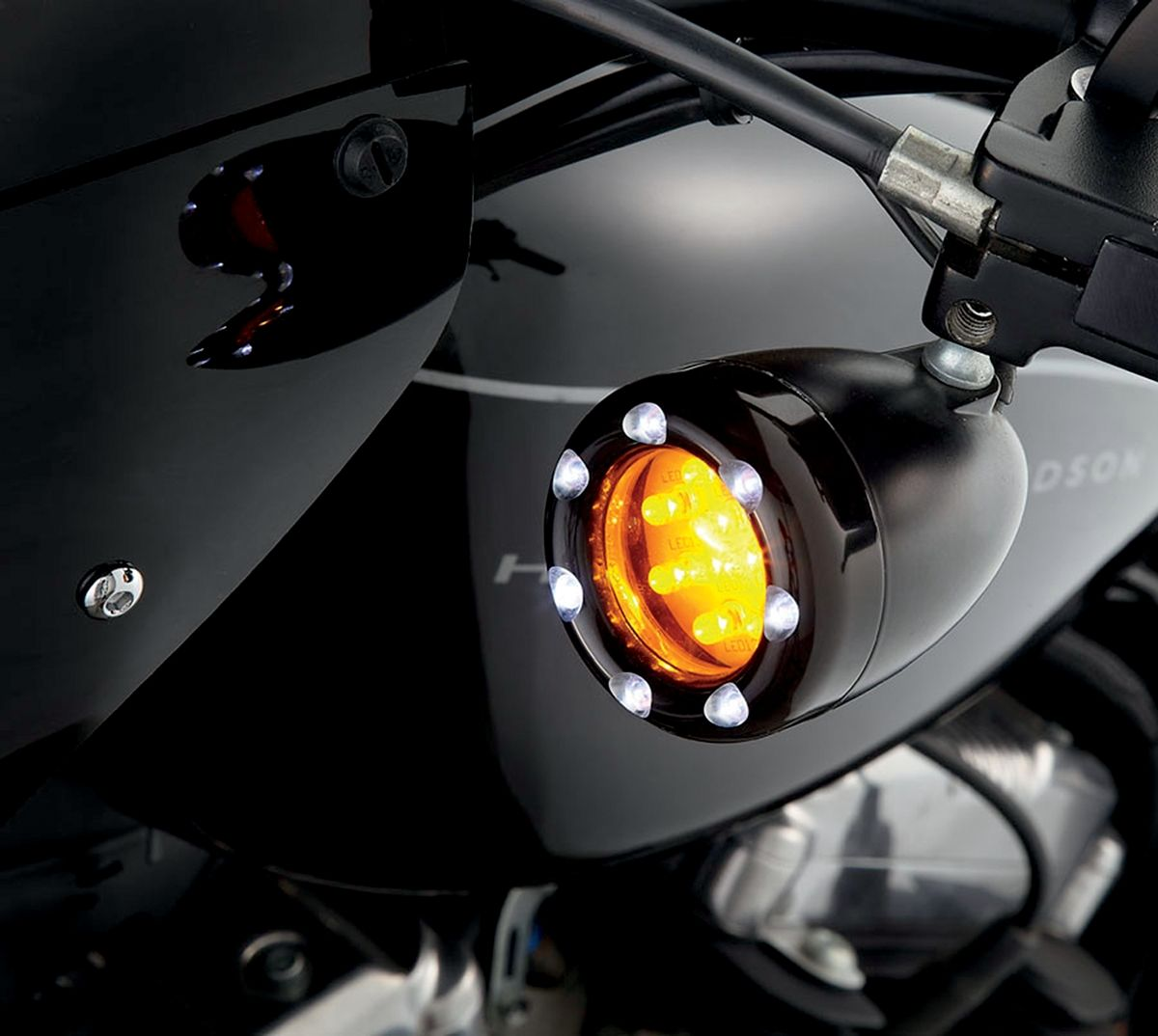 【ARLEN NESS】LED 方向燈 BLK WH [2040-0848] - 「Webike-摩托百貨」