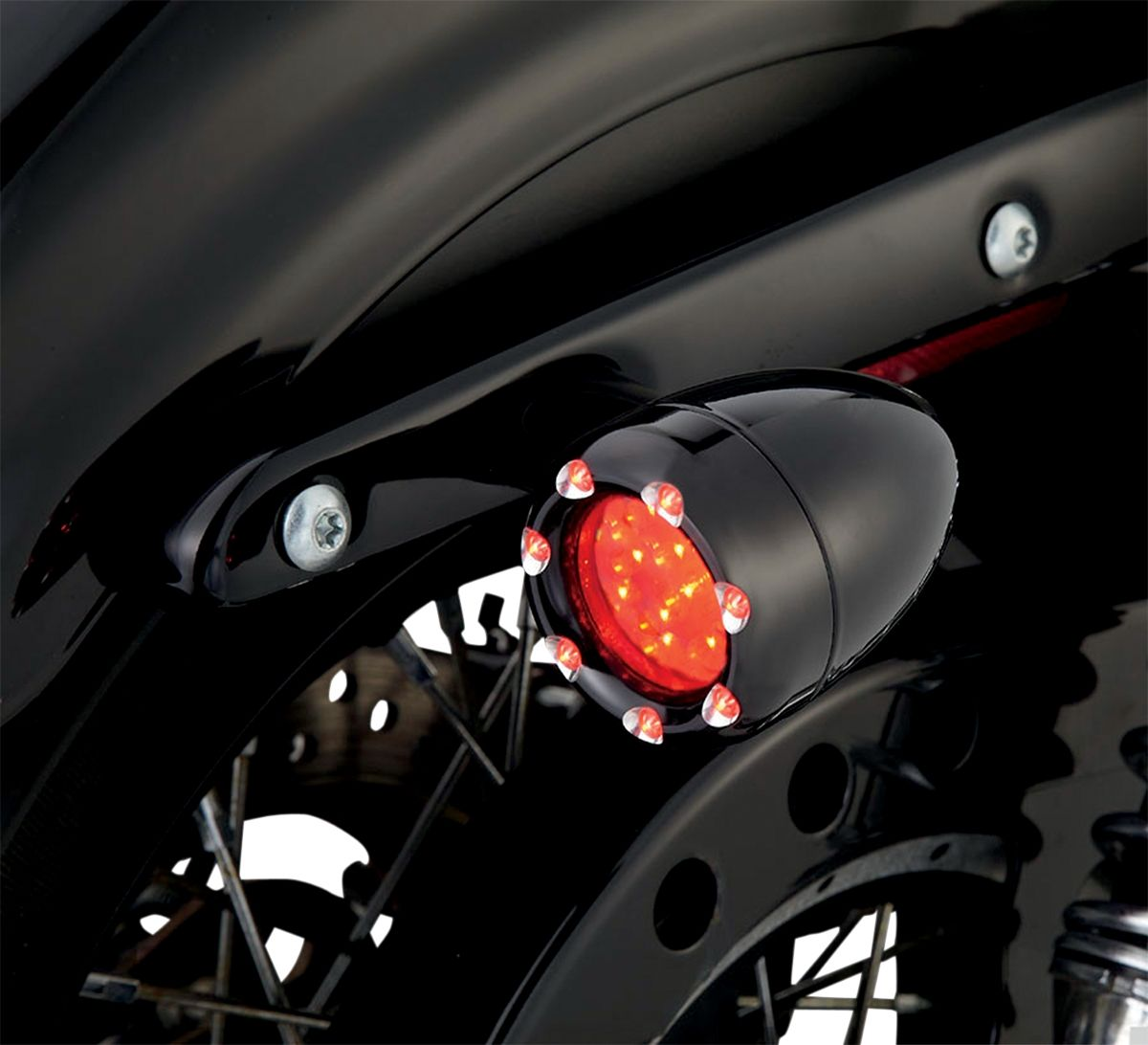 【ARLEN NESS】LED 方向燈 BLK RD S [2040-0852] - 「Webike-摩托百貨」