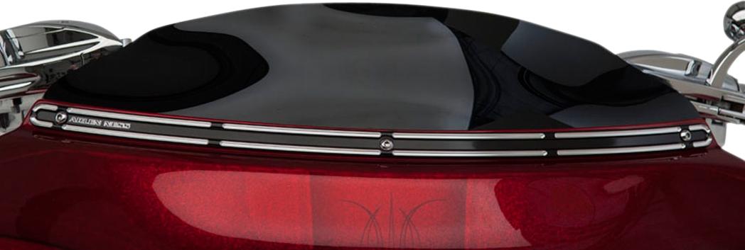 【ARLEN NESS】風鏡飾板 SLOT BLK [2350-0219] - 「Webike-摩托百貨」