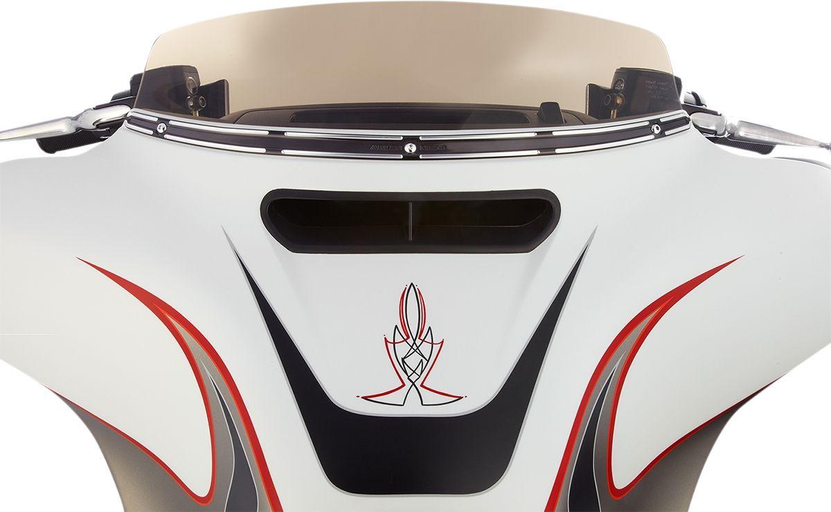 【ARLEN NESS】風鏡飾板  FLHT SLT-T BLK [2350-0233] - 「Webike-摩托百貨」