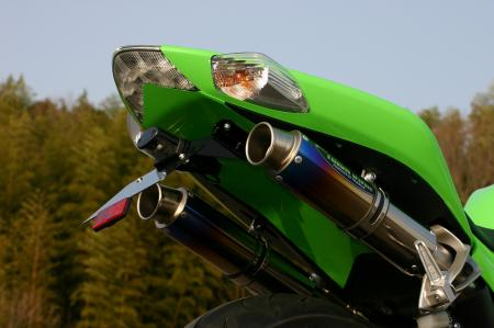 【TRICK STAR】Dual Type Shotgun  競賽型排氣管尾段(燒色Ti) - 「Webike-摩托百貨」