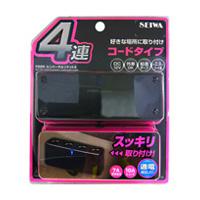 【SEIWA】通用型插座4 - 「Webike-摩托百貨」