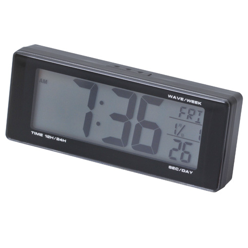 【SEIWA】光電波時鐘 - 「Webike-摩托百貨」