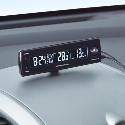 【SEIWA】電壓Thermo電波時鐘+USB - 「Webike-摩托百貨」