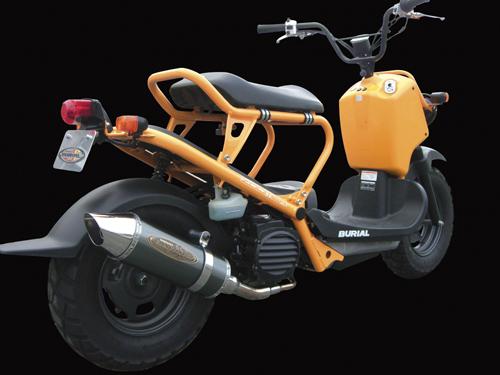 【BURIAL】Metal Hybrid Stinger 全段排氣管 銀 - 「Webike-摩托百貨」