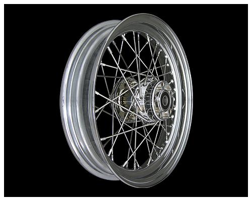【Neofactory】00-06yDYNA・Softail用輪框 16×3.0in 鍍鉻 - 「Webike-摩托百貨」