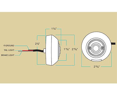 【2%er】Biltwell Model C LED 尾燈 - 「Webike-摩托百貨」