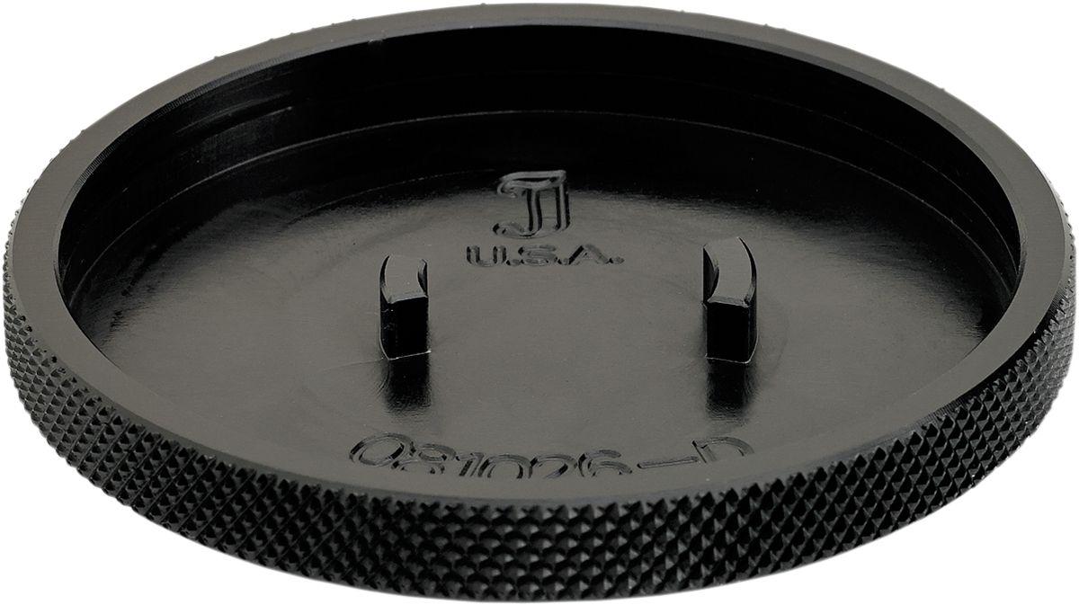 【JOKER MACHINE】油箱蓋 壓花黑色 TRI-用 【CAP FUEL KNURLED BLK TRI- [0703-0649]】 - 「Webike-摩托百貨」