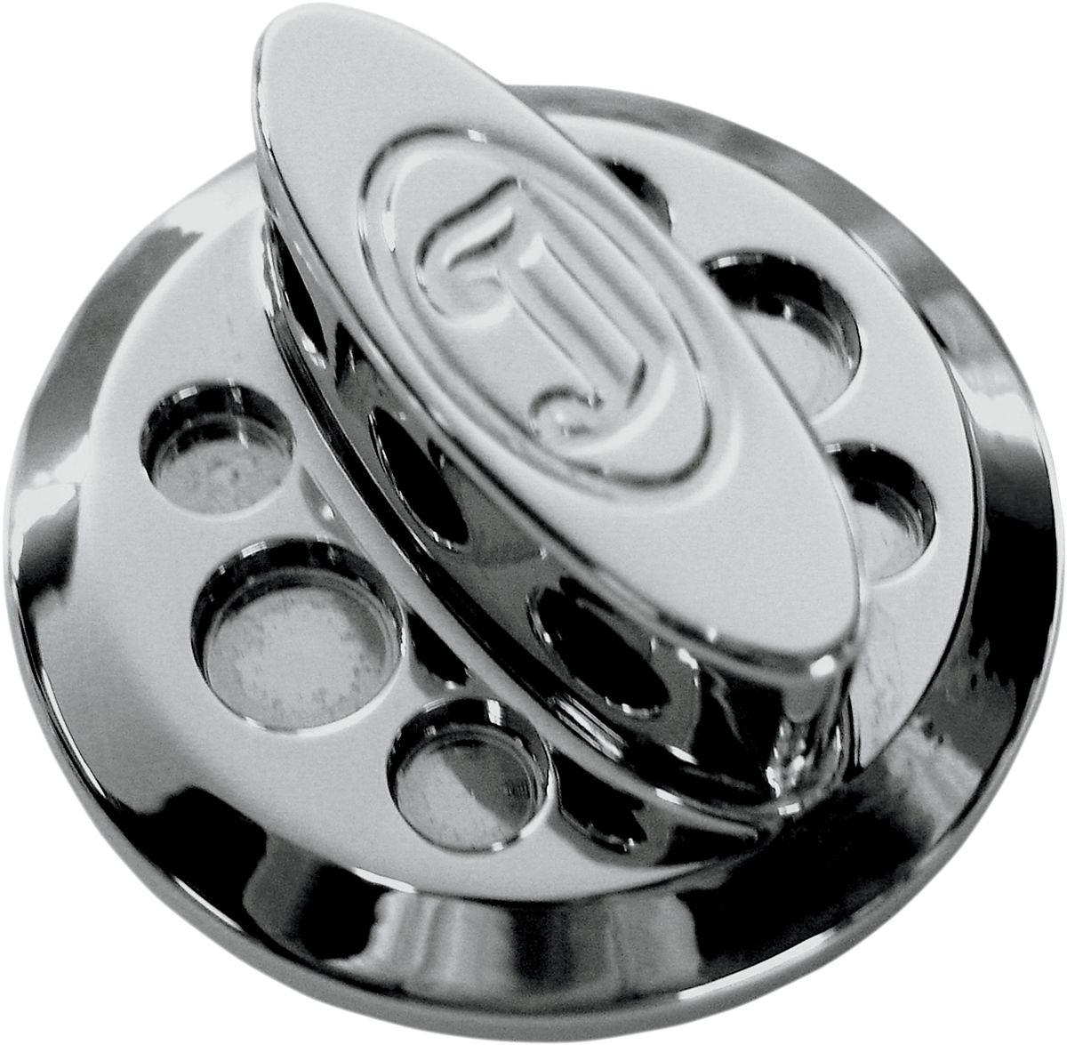 【JOKER MACHINE】機油加注口蓋 TRI 鍍鉻 【PLUG OIL TRI CHROME [0710-0096]】 - 「Webike-摩托百貨」